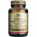 Ester C Plus 500mg (acid ascorbic – vitamina C alcalina) 50 capsule vegetale Solgar
