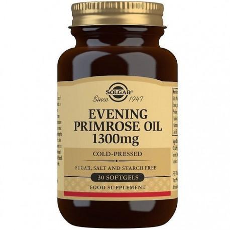 Evening Primrose Oil 1300mg (Ulei de luminita noptii) 30 capsule vegetale Solgar