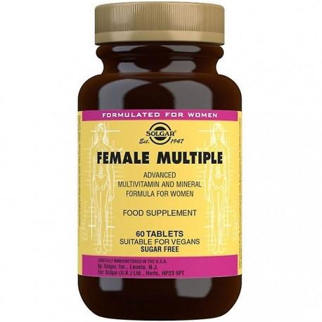 Female Multiple (Multivitamine Femei) 60 tablete vegetale Solgar