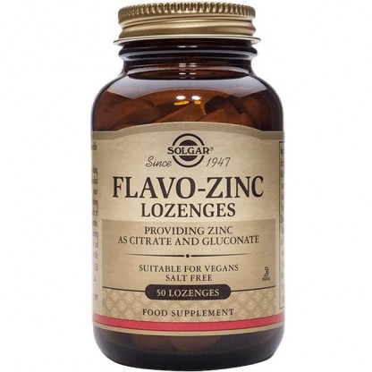 Flavo Zinc (Mineral) 23mg 50 tablete Solgar
