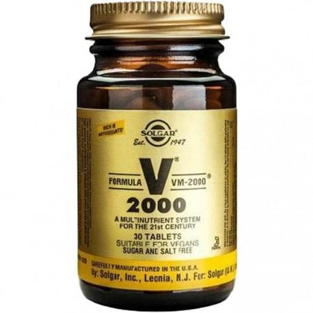 Formula VM 2000 (multinutrienti) 30 tablete naturale Solgar