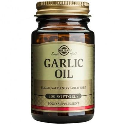 Garlic Oil (Ulei de Usturoi) 100 capsule moi Solgar