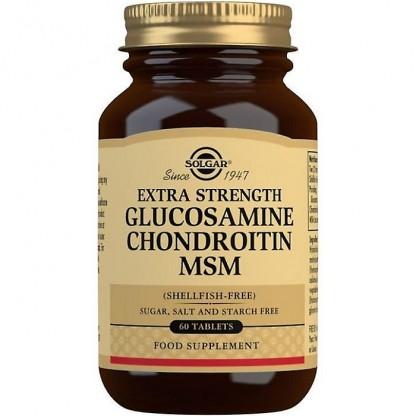 Glucosamine, Hyaluronic Acid, Chondroitin, MSM 60 tablete Solgar