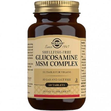 Glucosamine MSM Complex (Complex Glucozamina MSM) 60 tablete Solgar