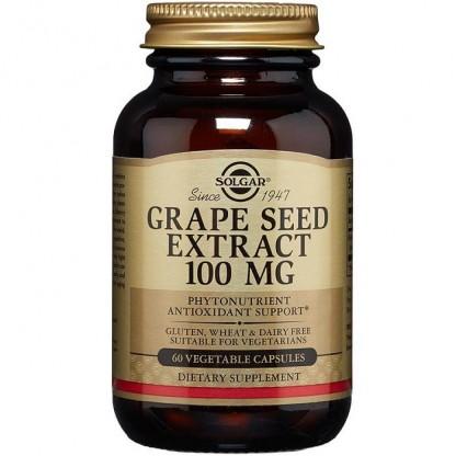 Grape Seed Extract 100mg (Seminte de struguri) 30 capsule Solgar