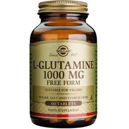 L-Glutamine 1000mg 60 tablete vegetale Solgar