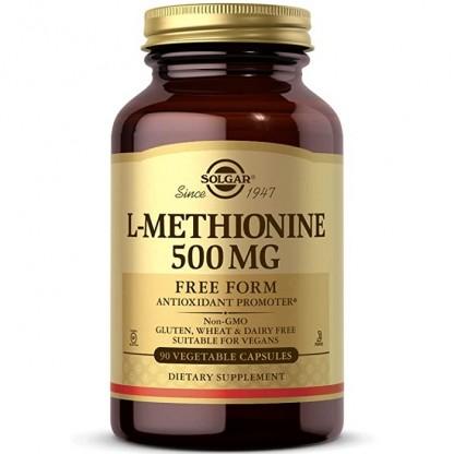 L-Methionine (L-metionina) 500mg 30 capsule vegetale Solgar