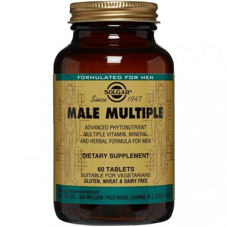 Male Multiple (Multivitamine si Minerale pentru barbati) 60 tablete Solgar