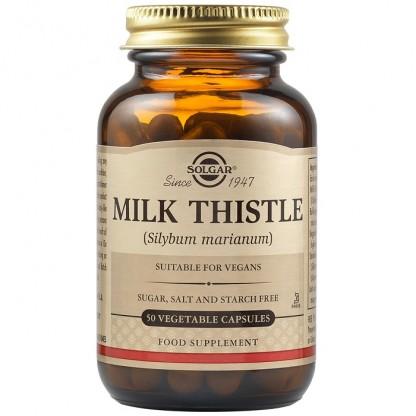 Milk Thistle (Silimarina) 50 capsule vegetale Solgar