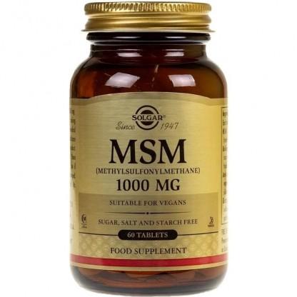 MSM 1000mg (Metilsulfonilmetan) 60 tablete Solgar