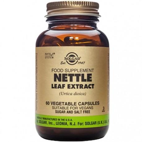 Nettle Leaf (Urzica) Extract 60 capsule Vegetale Solgar