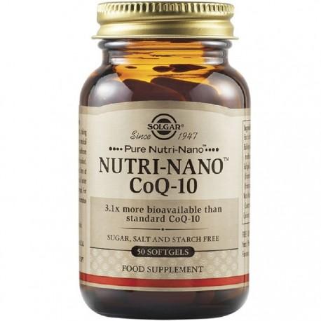 Nutri-Nano Coenzima Q10 3.1x 50 capsule vegetale Solgar