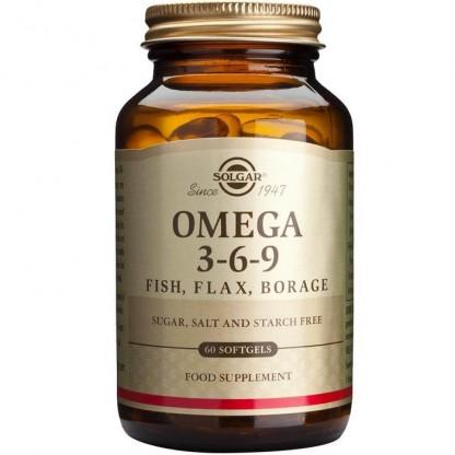 Omega 3-6-9, 60 capsule moi Solgar