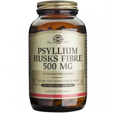 Psyllium Husks Fibre 500mg 200 capsule vegetale Solgar