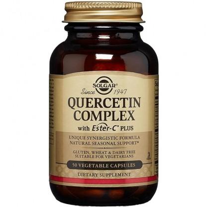 Quercetin Complex 50 capsule vegetale Solgar