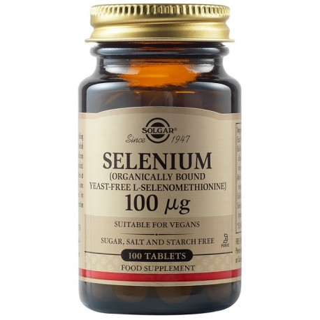 Selenium 100mg 100 tablete Solgar