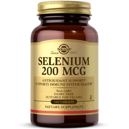 Selenium 200mg 50 tablete Solgar