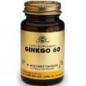 Ginkgo 60 (Ginkgo Biloba) 60 capsule vegetale Solgar