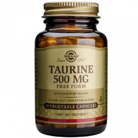 Taurine (Taurina) 500mg 50 capsule vegetale Solgar