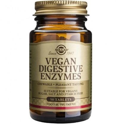 Vegan Digestive Enzymes 50 tablete Solgar