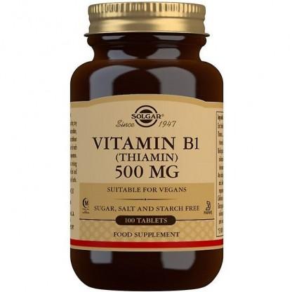 Vitamina B1 100mg 100 capsule vegetale Solgar