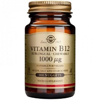 Vitamina B12 1000mcg 100 tablete (Cobalamina) Solgar
