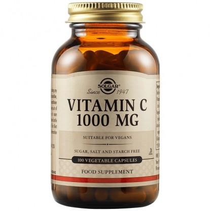 Vitamina C 1000mg 100 capsule vegetale Solgar