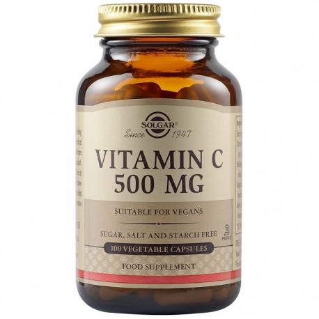 Vitamina C 500mg 100 capsule vegetale Solgar
