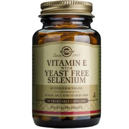 Vitamina E + Selenium 50 capsule vegetale Solgar