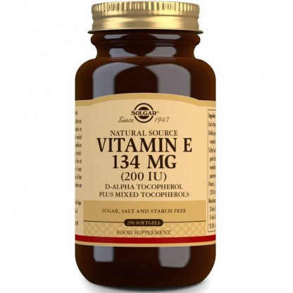 Vitamina E 200iu 134mg 50 capsule vegetale Solgar