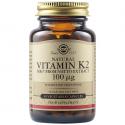 Vitamina K2 100mcg 50 capsule vegetale Solgar