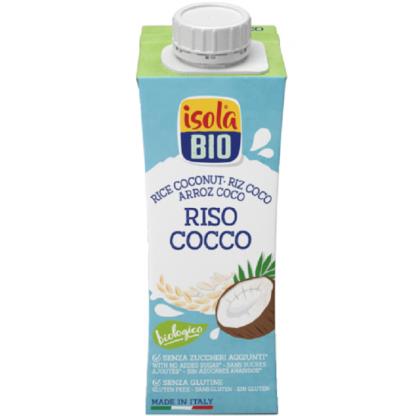 Bautura bio din orez si nuca de cocos Isola Bio 250ml ( fara gluten)