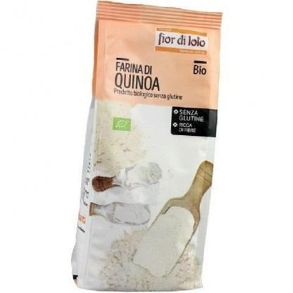 Faina de quinoa bio, fara gluten 375g Fior di Loto