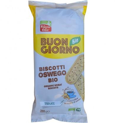 Biscuiti Buongiorno bio Oswego (produs vegan) 250g Finestra sul Cielo