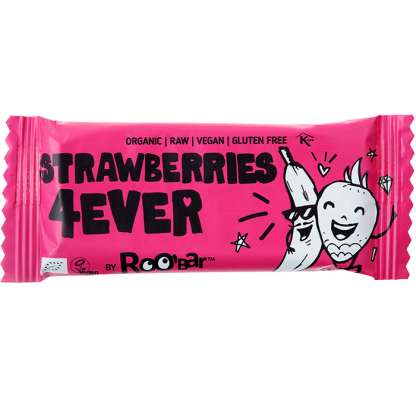 Baton Strawberries 4ever raw bio 30g Roobar