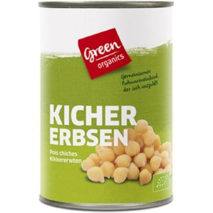 Naut ecologic la conserva BIO 400g Green Organics