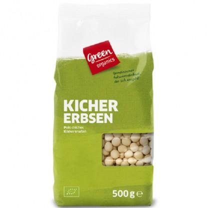 Boabe de naut BIO 500g Green Organics