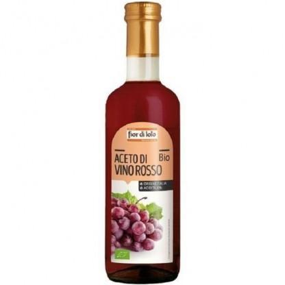 Otet bio de vin rosu 500ml Fior di Loto
