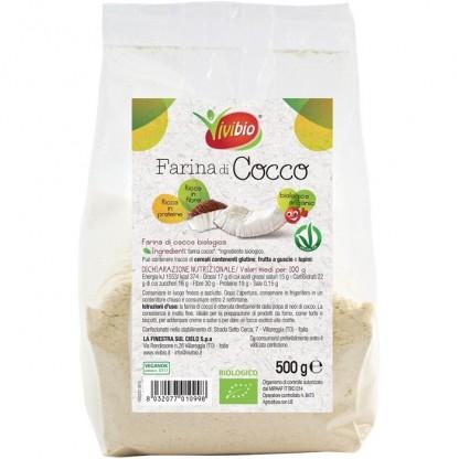 Faina Bio de cocos, vegan 500g Vivibio