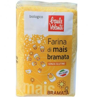Faina bio de porumb Bramata fara gluten 500g Baule Volante