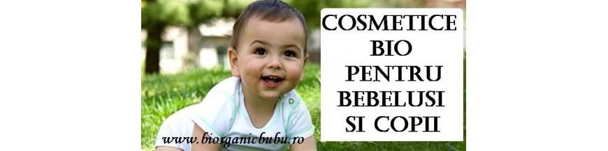 Cosmetice BIO pt Bebelusi si copii