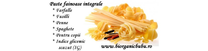 Paste fainoase BIO integrale