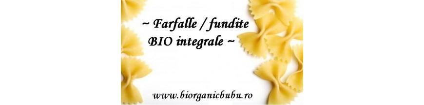 BIO Farfalle (fundite) Paste integrale