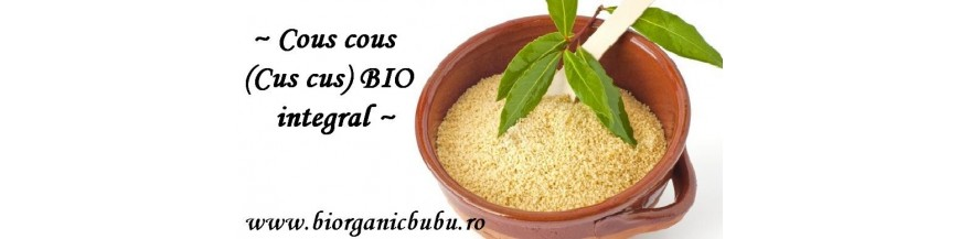 Cuscus BIO integral - cousocus organic