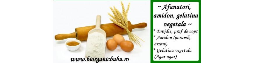 Drojdie BIO, amidon, gelatina vegetala (agar agar) bio