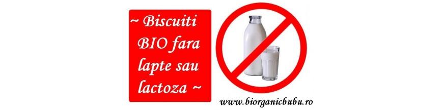 Biscuiti BIO fara lapte