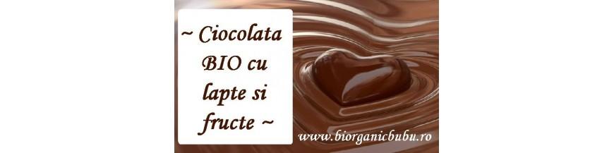 Ciocolata cu lapte BIO organica