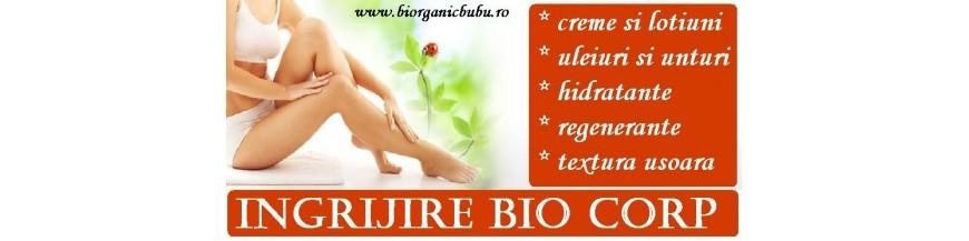 Cosmetice BIO pentru corp