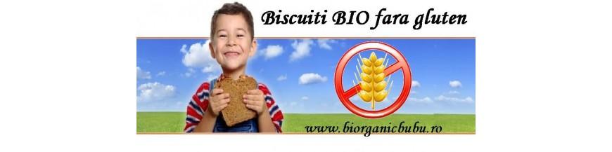 Biscuiti si snackuri BIO fara gluten