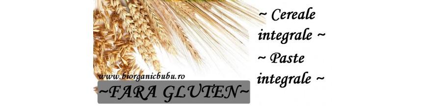 Boabe de cereale si paste fainoase FARA gluten